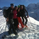 Aiguillette Des Houches - Chamonix - French Teacher and Students