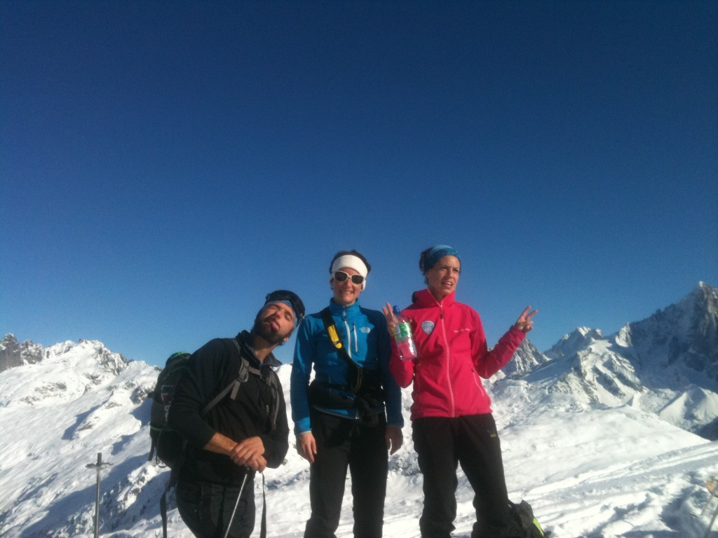 Some great days skiing with our students